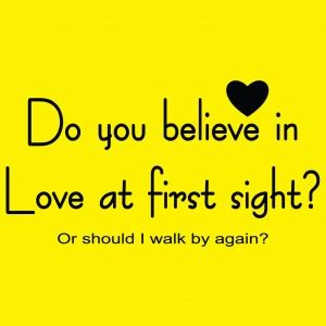Study on love at first sight